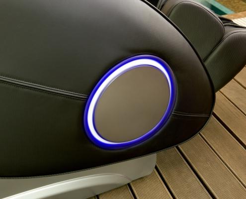Osaki TP-9000 - Zero Gravity masszázsfotel színterápia